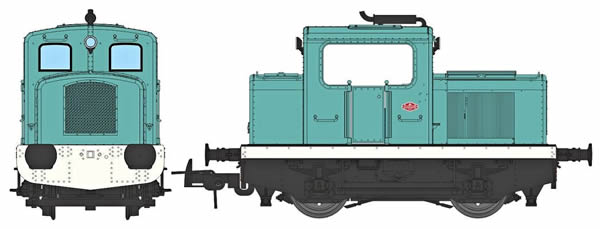REE Modeles MB-092 - French Diesel Locomotive MOYSE 32 TDE