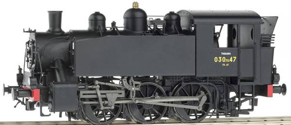 REE Modeles MB-116S - French Steam Locomotive 030 TU JZ 62-067 of the SNCF (DCC Sound Decoder)