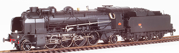 REE Modeles MB-126S - French Steam Locomotive Class 141 of the SNCF PERIGUEUX depot, A 47 tender, DCC Sound & Smoke
