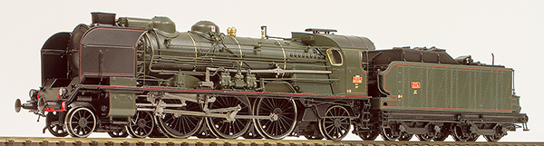 REE Modeles MB001S - French Steam Locomotive type 231 G 252 Bordeaux ex PLM of the SNCF(DCC Sound Decoder)
