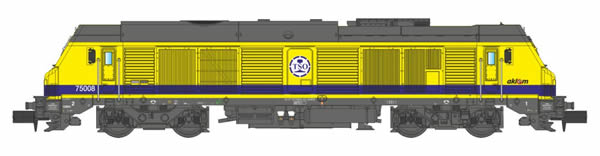 REE Modeles NW-104 - French Diesel Locomotive TSO BB-75008