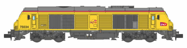 REE Modeles NW-107 - French Diesel Locomotives INFRA BB-675 032 of the SNCF