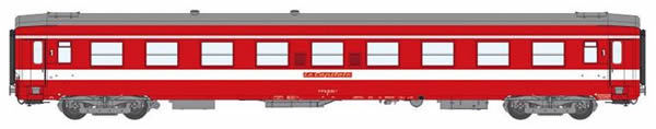 REE Modeles VB-121 - 1st Class French Passenger Coach A9 Red Plate Capitol
