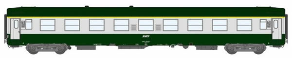 REE Modeles VB-123 - 1st Class French Passenger Coach A9 scrubland 302
