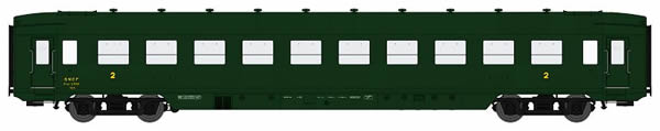 REE Modeles VB-130 - French Wagon DEV AO U46 B10 Green 306
