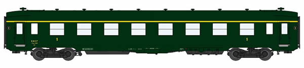 REE Modeles VB-141 - 1st Class French Passenger Coach DEV AO A8 U53