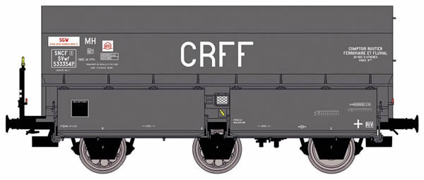 REE Modeles WB-375 - French Wagon COKE MH45 CRFF of the SNCF