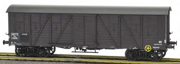 REE Modeles WB-521 - French Four Axle Box Car, 2 doors, Era III A SNCF Kwy 113048