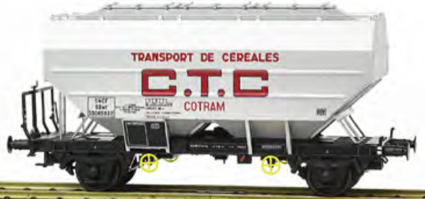 REE Modeles WB-624 - French Grain Car RICHARD manufacturing CTC COTRAM Aluminum Era III