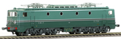 French Electric Locomotive Class CC-7120 of the SNCF original green liver South West Paris SO - DCC