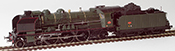 French Steam Locomotive 3-231 G 117 of the SNCF Depot TOURS (DCC Sound Decoder & Smoke)