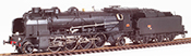 French Steam Locomotive Class 141 of the SNCF PERIGUEUX depot, A 47 tender, DCC Sound & Smoke