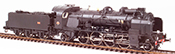 French Steam Locomotive Class 141 of the SNCF GRENOBLE depot, ACFI water pump, A 11 tender, DCC Sou