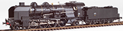 French Steam Locomotive Class 141 of the SNCF VEYNES depot, DABEG water pump, A 88 tender, DCC Soun
