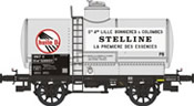 French SNCF Tank Car OCEM 19 'STELLINE-OIL' No. 521693
