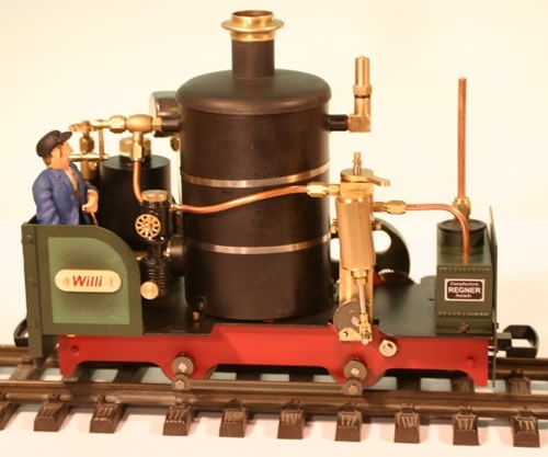 Regner 25200 - Willi ready-to-run model without figure