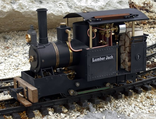 Regner 25401 - Lumber Jack, Live Steam, partially assembled