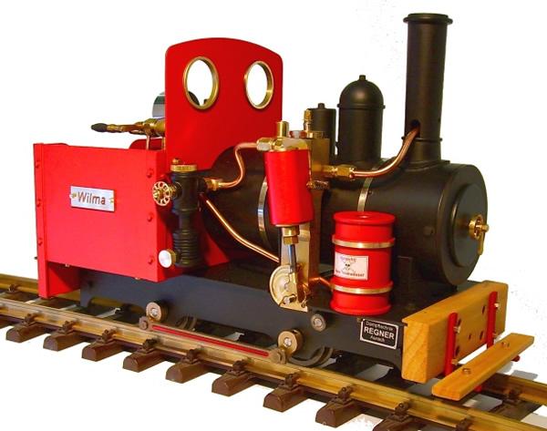 Regner 25450 - WILMA Easy Line  live steam locomotive