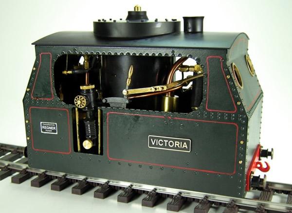 Regner 25490 - Victoria Easy Line  steam tram locomotive