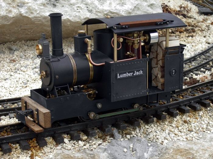Regner 25401 - Lumber Jack, Live Steam, partially assembled
