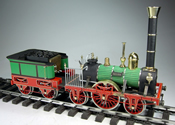 1/32 Scale Live Steam Adler Locomotive
