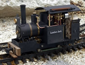 Lumber Jack, Live Steam, partially assembled