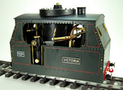 Victoria Easy Line  steam tram locomotive