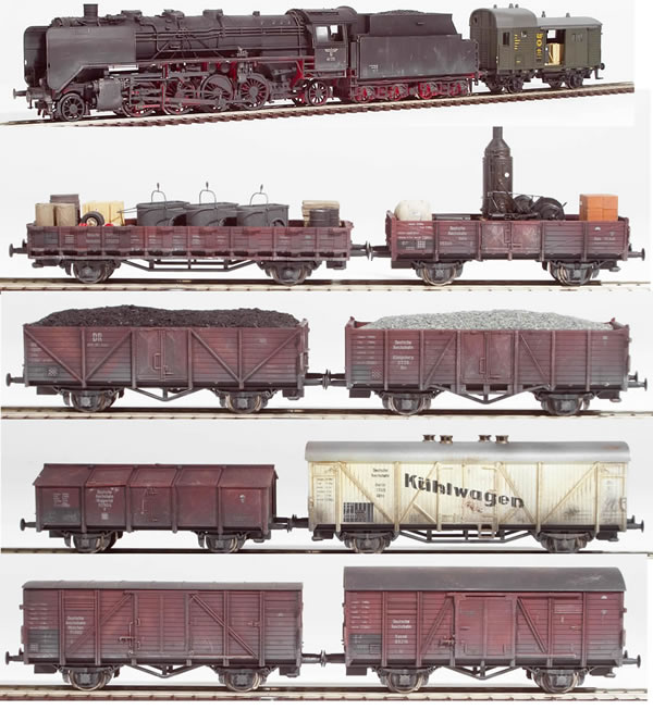 REI Models 0034s - German Era II DRG Good Train (SOUND)