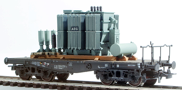 REI Models 20281 - Heavy AEG Transformer Transpost (Hand Weathered & Painted)