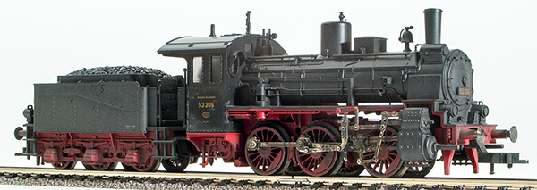 REI Models 412401W - German Steam Locomotive BR 53 of the DRG Hand Weathered