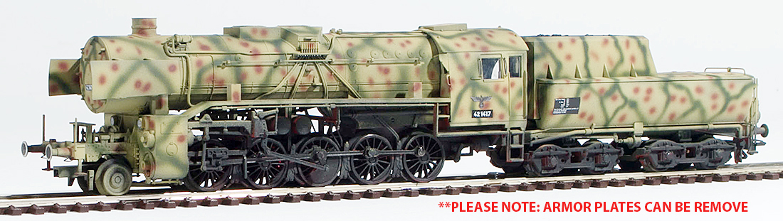 REI Models 39042SAC - German Steam Locomotive BR 42 of the DRB WWII