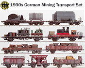 1930s German Era II DRG Mining Transport Set