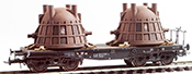 Heavy Slag Ladle Transport ( Hand Weathered & Painted)