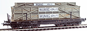 Heavy Wumag Görlitz  Crate Transport ( Hand Weathered & Painted)