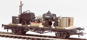 Tar and Oil Wagons equipment Transport (Hand Weathered & Painted)