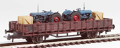 Fordson Dexta Tractor Transport (Hand Weathered & Painted)