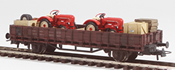 REI Models 460313 Porsche Junior Tractor Transport (Hand Weathered & Painted)