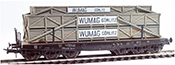 Heavy East German Wumag Görlitz Crate Transport ( Hand Weathered & Painted)