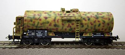 REI 47842 - Camouflaged Wehrmacht Tank Car