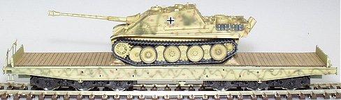 REI REI0051 - Jagd Panther Tank On Flat Wagon