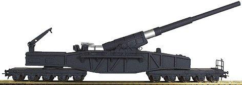 REI REI250 - German 10 Axle Bruno Railway Gun
