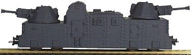 REI REI510 - Artillery Car w/ 2 Trapezoid Turrets
