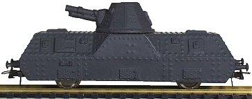 REI REI521 - Riveted Single Trapezoid Turret Artillery Car