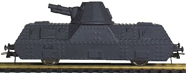 REI REI521 - Riveted Single Trapezoid Turret Artillery Car