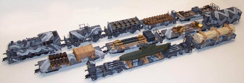 REI REI864850 - German WWII Winter Camo Submarine Transport Set