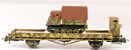 Raupenschlepper Ost Track Tractor on flat car
