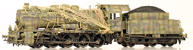 BR57 Kriegs Lok in 6 tone camo