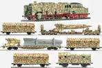 German WWII Wehrmacht V2 Transport Set in Ambush Livery (SOUND)
