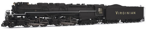 "Rivarossi 2407 - USA Steam Locomotive of the Virginian Railroad ""Blue Ridge"""