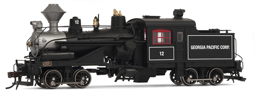 Rivarossi 2412 - USA Steam Locomotive Georgia Pacific #10 (DCC Sound Decoder)